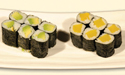 Avocado Roll and Oshiko Roll